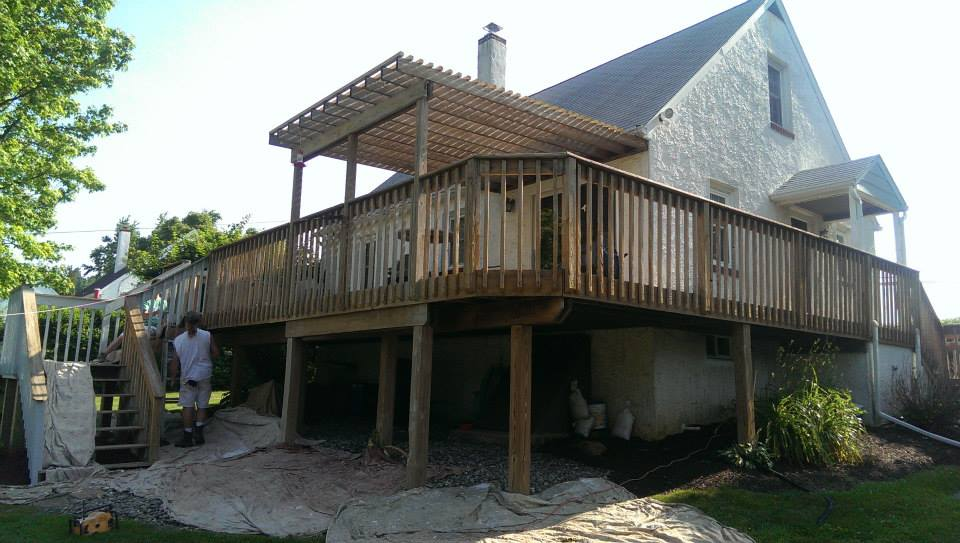 Chester County Painting - Deck Staining - Keith Reeser Painting LLC